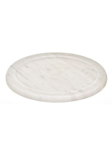 Gaya Stone Peynir Kabı Beyaz